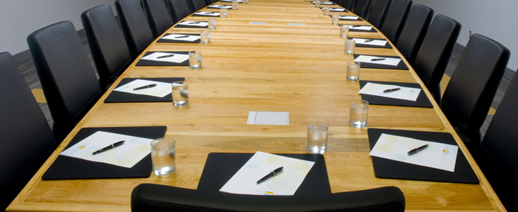 Shaw Centre Board Room