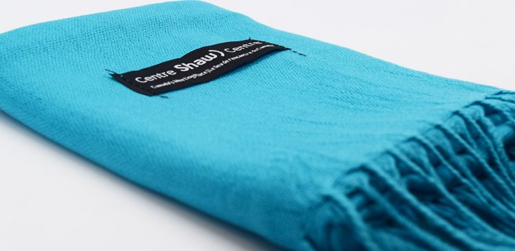 A Shaw Centre branded Pashmina scarf